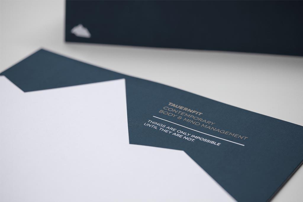 Tauernfit Briefpapier